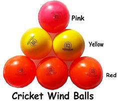 Cricket wind ball outdoor #indoor training #professional #quality balls ,  View more on the LINK: 	http://www.zeppy.io/product/gb/2/322068922985/