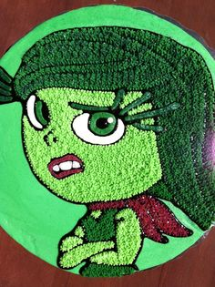 Inside out Cake Disgust