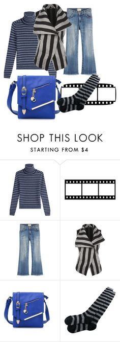 """""""Untitled #1543"""" by bellagioia ❤ liked on Polyvore featuring Sonia Rykiel, Current/Elliott, Ann Demeulemeester and MKF Collection"""