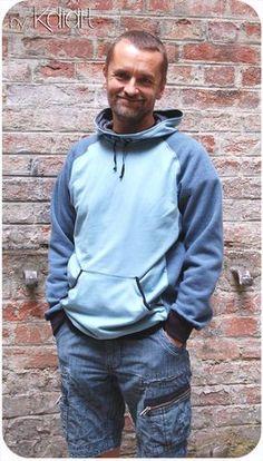 Mister Comet, der Kapuzenpulli für Männer Couture Sewing, Diy Clothing, Big Boys, Hooded Jacket, Rain Jacket, Windbreaker, Raincoat, Shirts, Cool Stuff