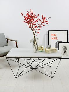 Coffee table/coffee table/MONO S/concrete/concrete/coffee Tables Concrete Coffee Table, Coffee Table Design, Space Interiors, Metal Wall Decor, Modern Table, Metal Furniture, Metal Walls, Scandinavian Style, House Design