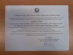 Come si diventa Console Onorario? Immunità, simboli e funzioni - Il Console Onorario a Cagliari - Reportage - Comune Cagliari News