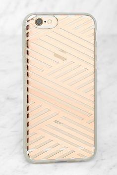Sonix Criss Cross Rose Gold iPhone 6 Case at Lulus.com!