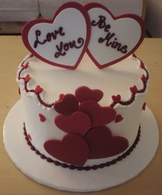 Valentines Day Cake from Nunuk on Cake Central