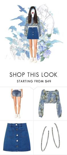 """""""Like the poem goes: roses are red, violets are blue,I love you..."""" by elliepetkova ❤ liked on Polyvore featuring Joe's Jeans, Dondup, Miss Selfridge and Nina Gilin"""