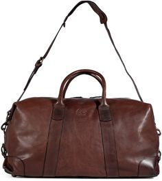 mens leather duffle - for travelling, i prefer men's bags