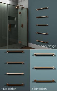 Floating Copper Towel Bar Radiator – Best Towel Models and Patterns 2020 Copper Bathroom Accessories, Contemporary Bathroom Accessories, Bath Accessories, Bathroom Spa, Budget Bathroom, Bathroom Faucets, Bathroom Ideas, Heated Towel Bar, Towel Heater