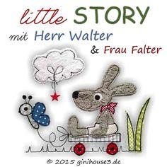 Stickdatei * Herr Walter mit Frau Falter * 5 Größen