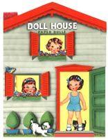 Doll House Paper Dolls, Saalfield 1948