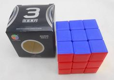 3 PCS diansheng  Stickerless 3x3 Magic Cube 3x3x3 High Speed cube Toys White