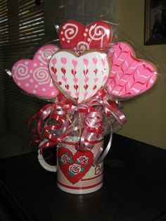 Cookie Bouquets | Valentine Cookie Bouquets | Flickr - Photo Sharing!