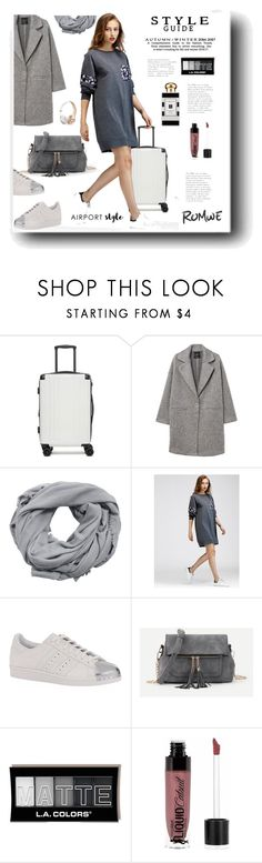 """Casual Style"" by snezanamilunovic ❤ liked on Polyvore featuring CalPak, MANGO, adidas Originals, Wet n Wild, Jo Malone, casualstyle and airportstyle"