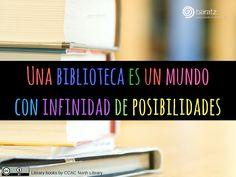 Una biblioteca es un