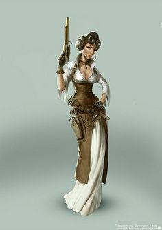 Steampunk Princess Leia by Official Star Wars Blog, via Flickr