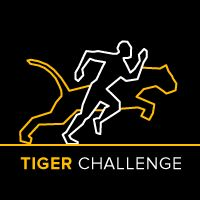 #tigerchallenge - Using you running app to track your times to break the amur tiger's record.