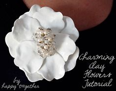 Clay Flowers Tutorial