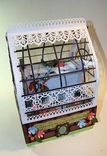 The Paper Trail: Victorian Greenhouse Peek 1