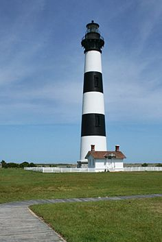 outer banks lighthouses pictures | Bodie Island Lighthouse, Pea Island, Outer Banks of North Carolina