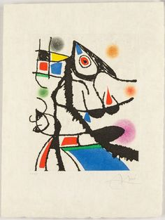Joan Miró, 'UNTITLED from LE MARTEAU SANS MAÎTRE', 1976
