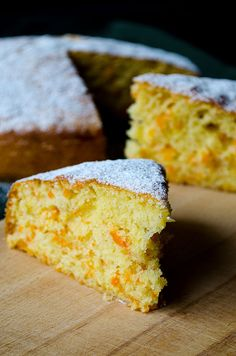 Fluffy Ginger Carrot Cake | giverecipe.com | #cake #carrot #ginger