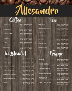 Coffee Shop Menu Template Luxury Coffee Shop Menu Board Design Template to Customize Menu Board Design, Cafe Menu Design, Food Menu Design, Restaurant Menu Design, Coffee Shop Menu, Small Coffee Shop, Cafe Menu Boards, Coffee Business, Coffee Stands