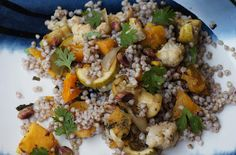 Anjas Food 4 Thought: Buckwheat Salad with Roasted Vegetables