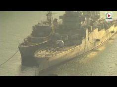 Reportage HD – TV Quiberon 24/7 - 30 Octobre 2014 -Le cimetière des navires de Landévennec dans le Finsitere est un méandre de l'Aulne, situé à proximité de Landévennec, où sont stockés certains navires, en particulier de la Marine nationale française, en attente de démantèlement.
