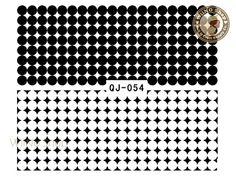 Items similar to Black Circle Dots Pattern Water Slide Nail Decals, Nail Sticker Nail Art - on Etsy Nail Decals, Nail Stickers, Nail Art Supplies, Used Tools, Water Slides, Paper Background, Nail Tips, Gold Glitter, Dots