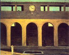 giorgio de chirico l'enigma dell'ora | serena - il suo spazio: GIORGIO DE CHIRICO - Arte e Depressione