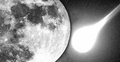 Un Meteorito explotó en la Luna yemitió una luz tan brillante como una estrella de magnitud 4