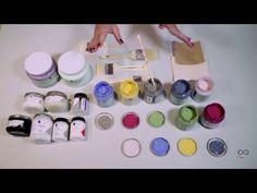 Curso online de chalk paint: formatos y colores - YouTube