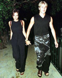 David Beckham 90's sarong