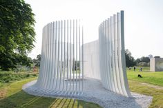 Bjarke Ingels Unveils his Serpentine Gallery Pavilion | Architect Magazine | Installation, Architecture, Bjarke Ingels, Yona Friedman, Asif Khan, Serpentine Gallery, NLÉ, Barkow Leibinger