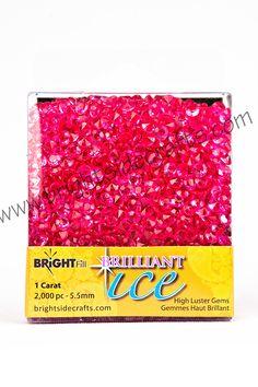 Brilliant Ice Pink. www.brightsidecrafts.com