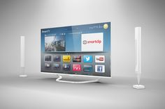 Smart Tv Mock Up by mockupstore.net on Creative Market
