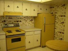 Kitschy 1970s Kitchen