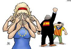 Catalonia and Europe Barcelona, Scottish Independence, Europe, Princess Zelda, Disney Princess, Political Cartoons, Human Rights, Rogues, Memes