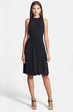 kate spade new york tie back crepe dress available at #Nordstrom