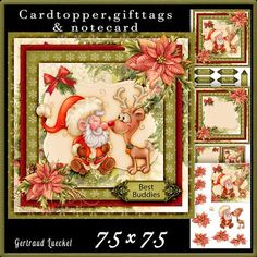 Cardtopper Best Buddies 591 on Craftsuprint - View Now!