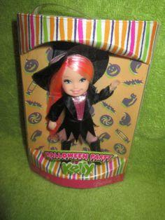 """NEW,""""Halloween Party Kelly Doll""""Barbie LittleSister,Mattel,BarbieNEW,"""