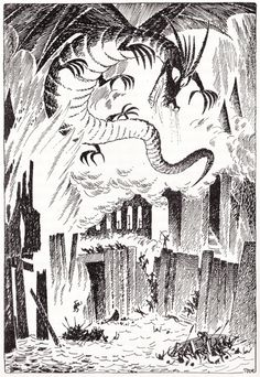 The Hobbit, Tove Jansson, 1962