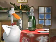Silvester und Neujahr Glückwunschkarte mit Pinguin - YouTube