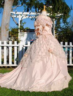 1800s Style Custom Fantasy Gown New!
