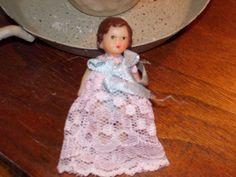 vintage doll german democratic republic by TreasuresPastOn on Etsy, $28.00