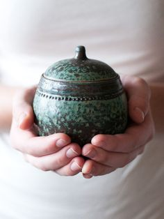 Turquoise Jar, Stoneware. |Pinned from PinTo for iPad|