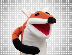 How to Make a Puppet: Pattern & Materials for a Fox