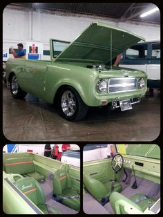 IH SCOUT Custom Hot Rod @ The International Harvester Nationals in Springfield Ohio.