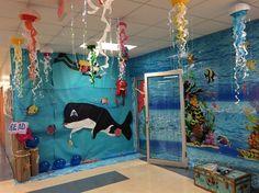 """Under the Sea"" Book Fair Decor!"