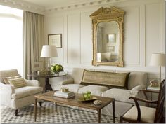 Elegant white living room, living room, interior design, home interior--this is so my style if I had to pick one! Home And Living, Interior Design, Elegant Living Room Design, Home, Interior, Living Decor, Atlanta Apartments, Elegant Living Room, Elegant Living