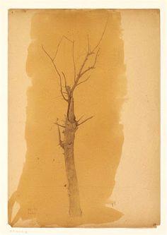 Odilon Redon, arbre en hiver.